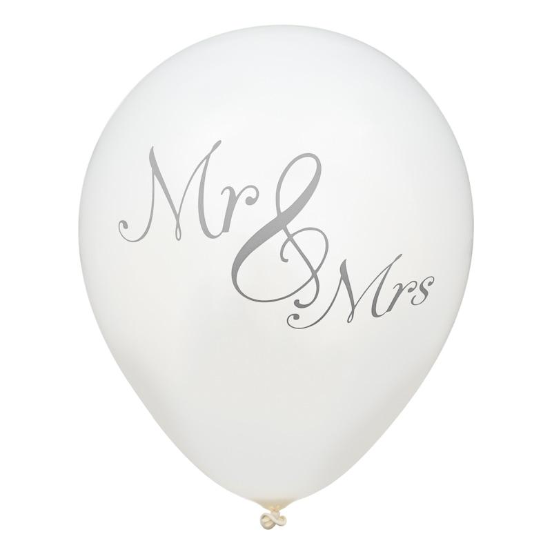 Wedding balloons 20pk silver wedding decorations bm 332097 happily ever after wedding balloons 20pk silver junglespirit Gallery