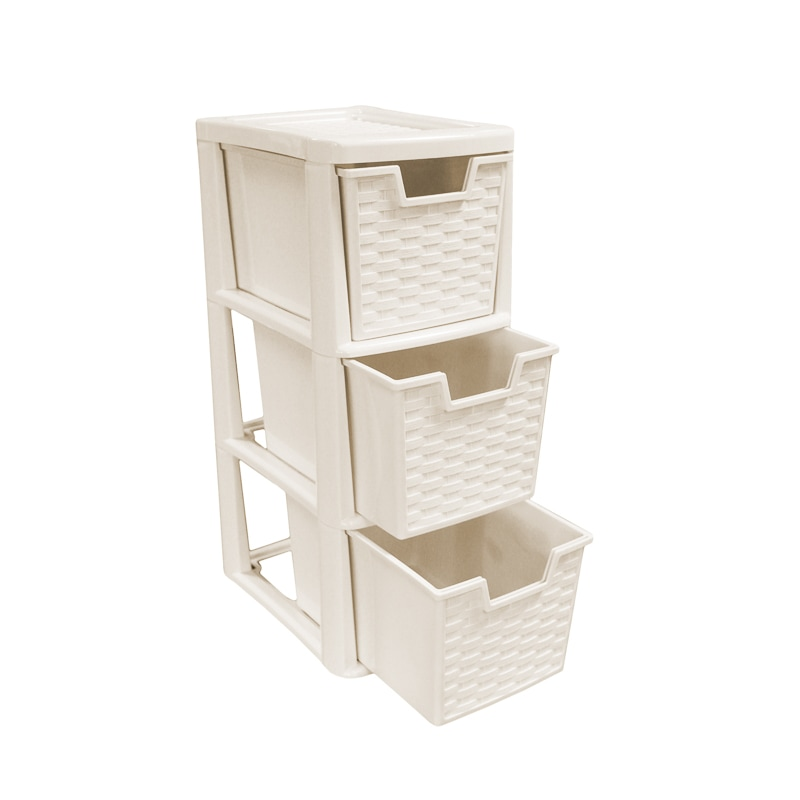 3 Drawer Medium Storage Tower