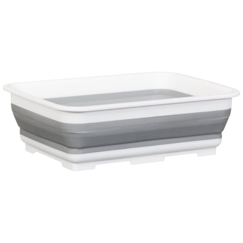 Addis Collapsible Washing Up Bowl - Grey & White