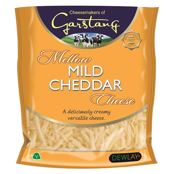 Grated Mild Cheddar Cheese 200g