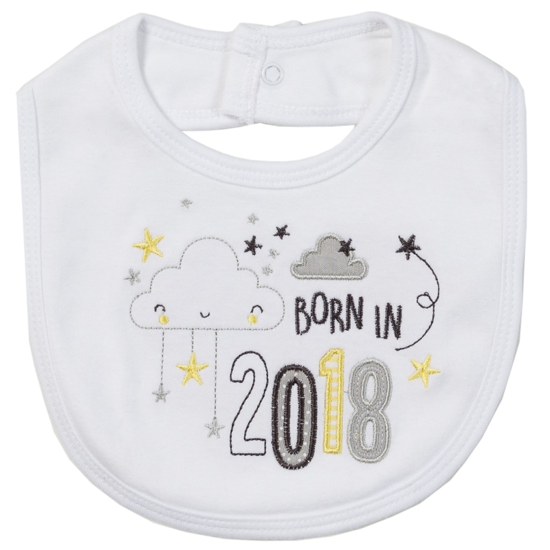 Born In 2018 Set 5pc Clouds Baby Clothing B Amp M