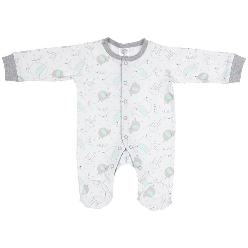 Baby Sleepsuit 2pk - Cute As Can Be