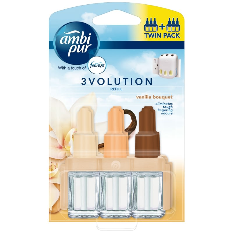 Ambi Pur 3Volution Refill Twin Pack - Vanilla