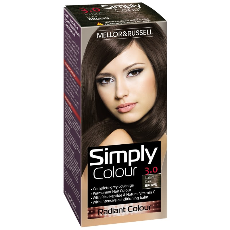 Simply Colour Hair Dye - Natural Dark Brown 3.0
