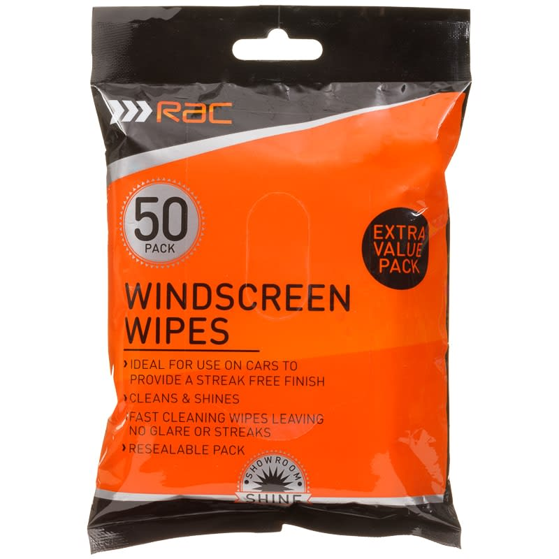 Rac Windscreen Wipes 50pk Car Care B Amp M