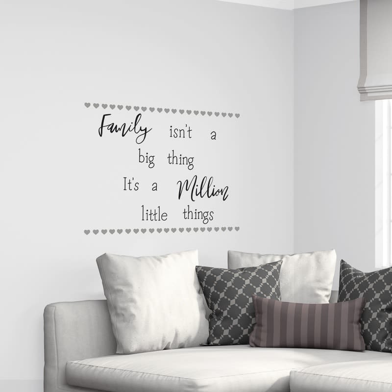 Quotes Wall Sticker Family