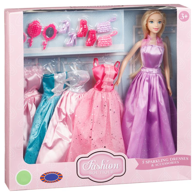 Dream dazzlers jessica fashion doll with dress-up setlist