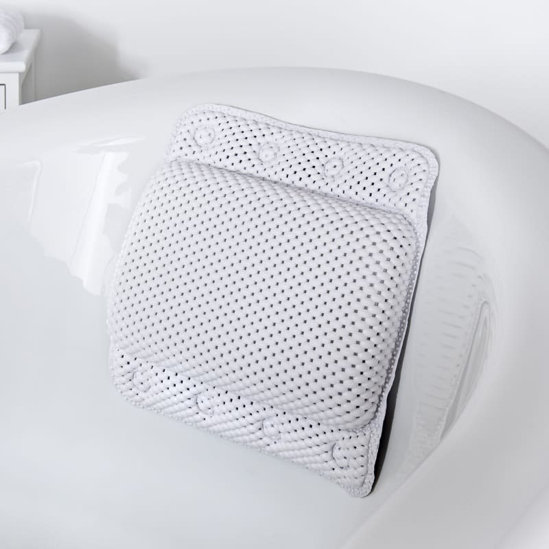 Addis Bath Pillow - White