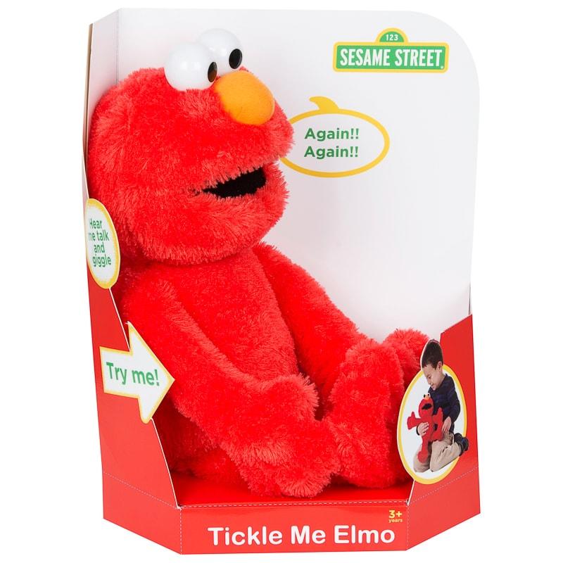 Tickle Me Elmo Talking Cuddly Toy Plush Toys B Amp M