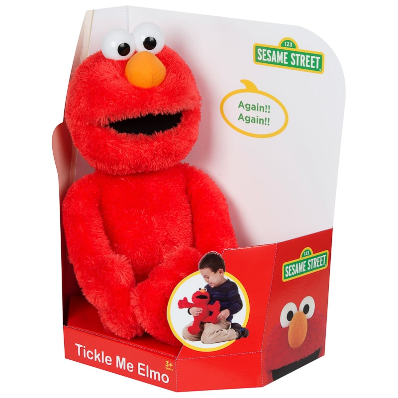 Tickle Me Elmo Talking Cuddly Toy Plush Toys B Amp M