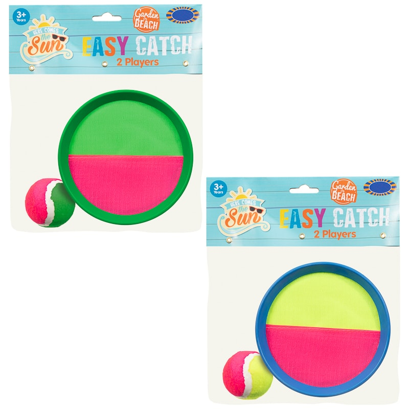 Easy Catch Bat & Ball From B&M Toys