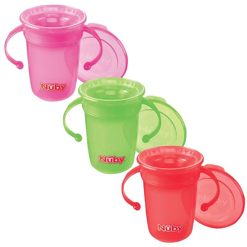 Nuby 360 Degree Drinking Beaker Baby Feeding B Amp M