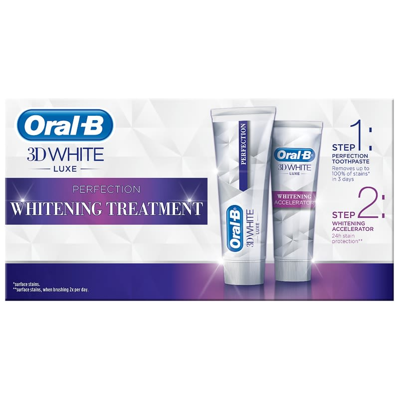 Oral-B 3D Whitening Treatment Kit
