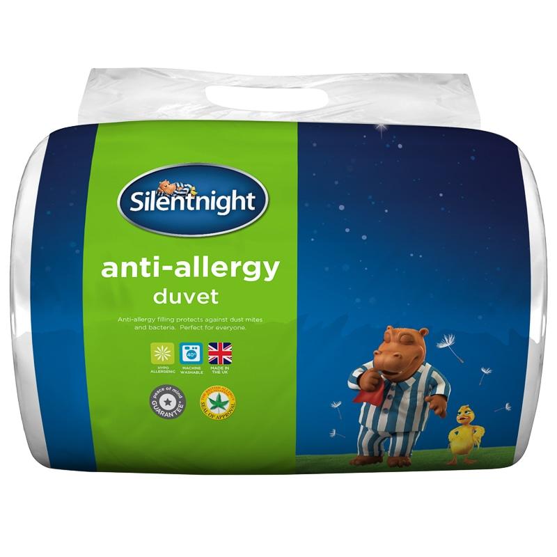 Silentnight Anti Allergy 10 5 Tog Double Duvet Bedding B Amp M