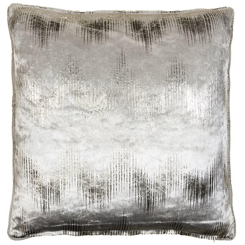 Milano Metallic Cushion Mink Amp Silver Cushions B Amp M