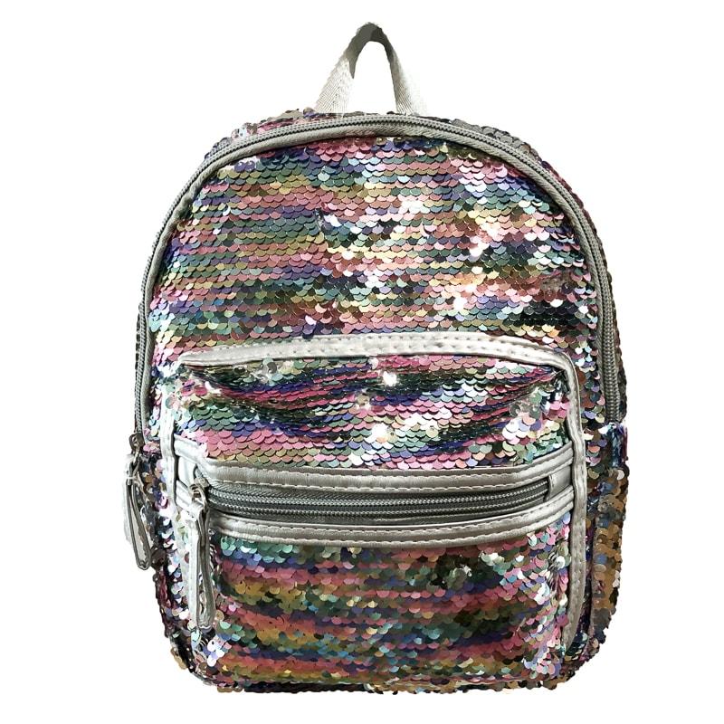 Mini Sequin Backpack Silver Bags Amp Backpacks B Amp M