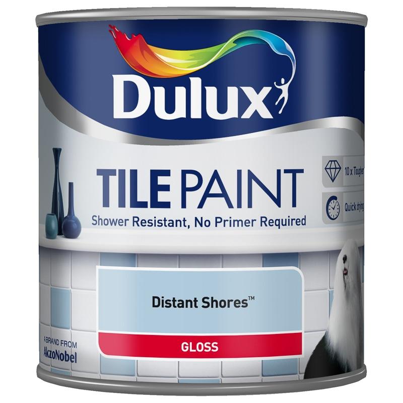 Dulux Bathroom Paints: Dulux Tile Paint 600ml - Distant Shores