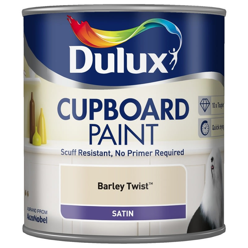 Dulux Cupboard Paint 600ml - Barley Twist