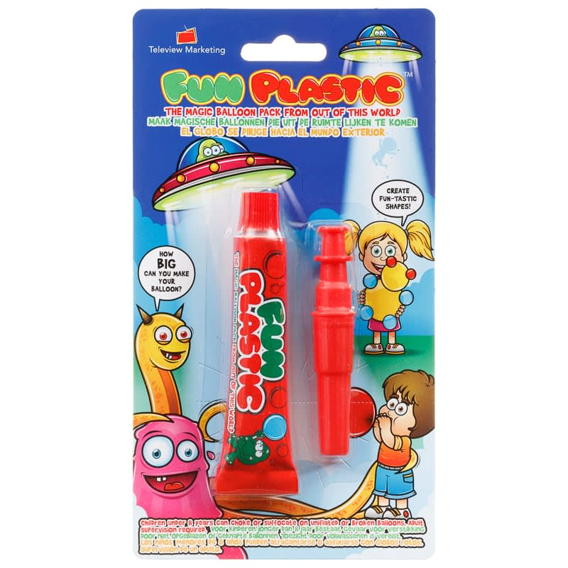 Fun Plastic Balloon Pack - Red