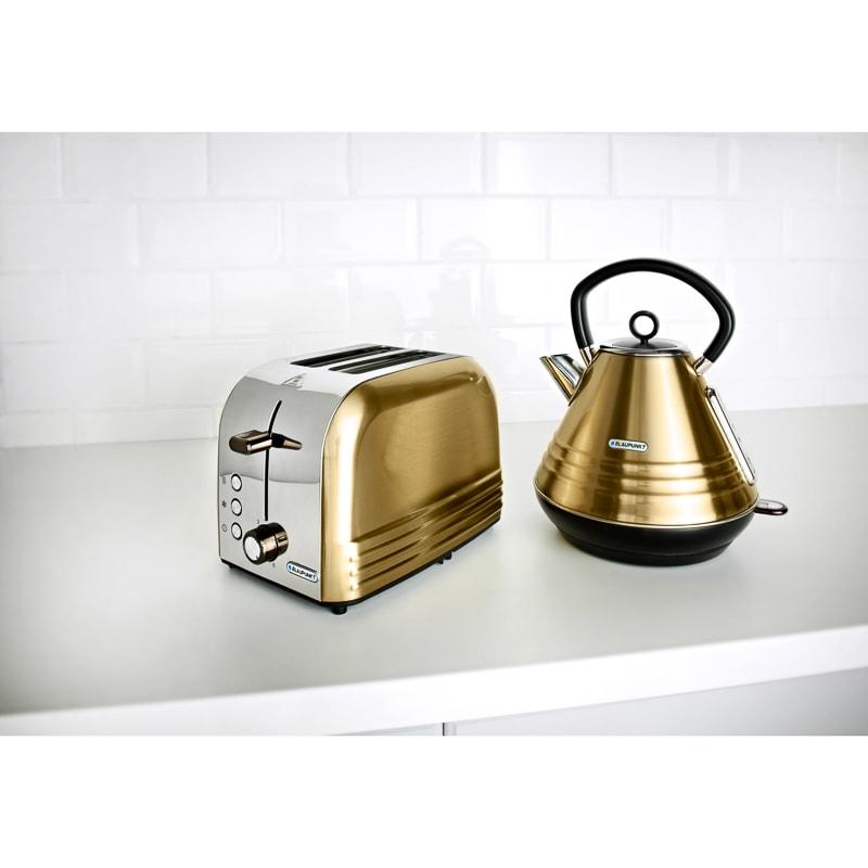 Blaupunkt Gold Stripe Breakfast Set Kitchen Electricals