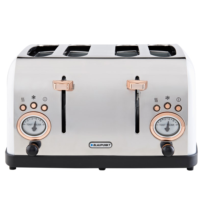 blaupunkt retro 4 slice toaster white kitchen b m. Black Bedroom Furniture Sets. Home Design Ideas