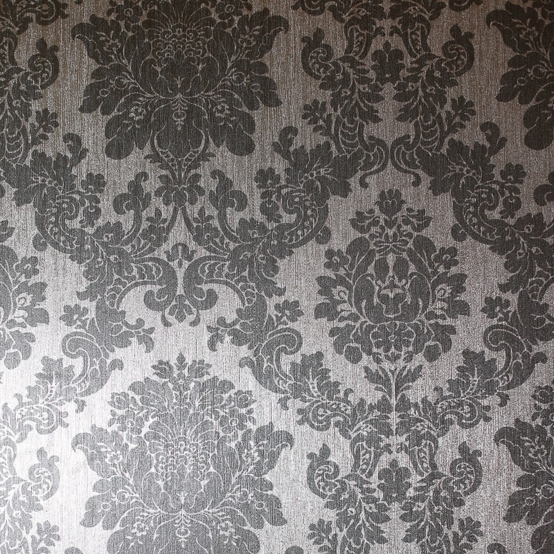 334097 Arthouse Crushed Damask Silver Wallpaper 2