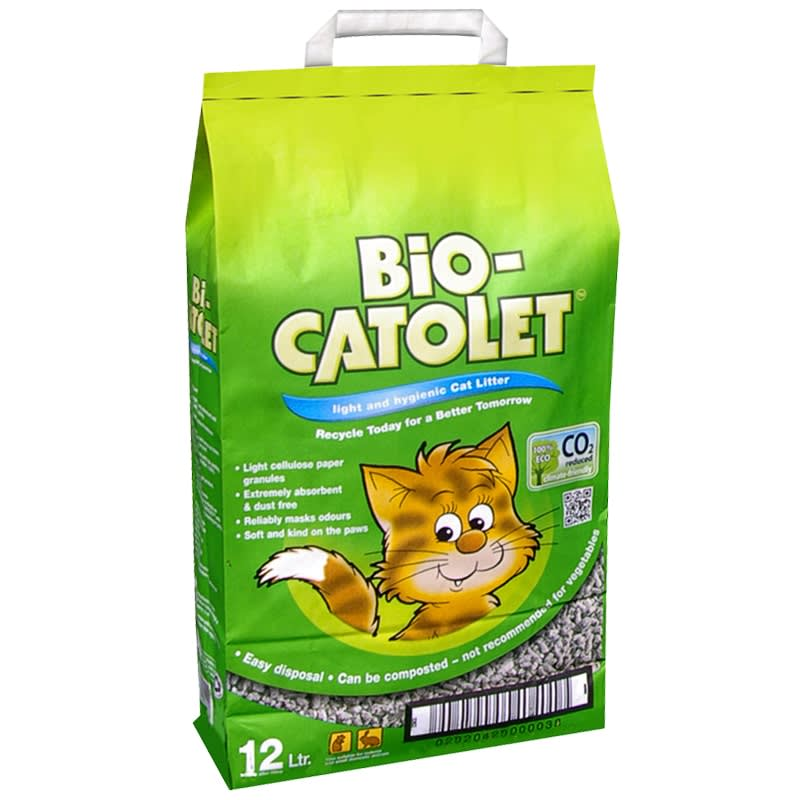 Bio-Catolet Cat Litter 12L