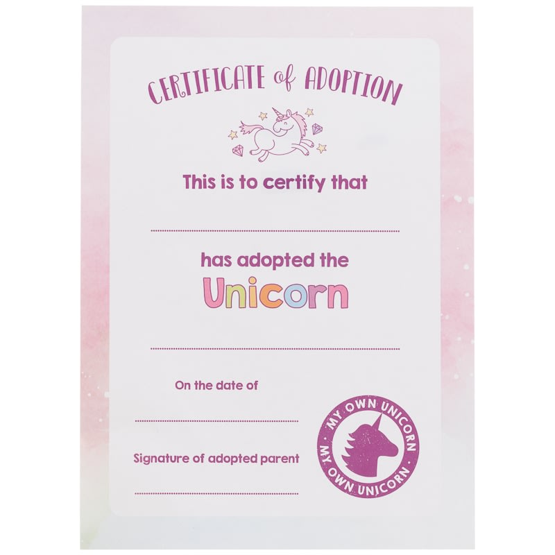 Adopt A Unicorn Purple Toys Gifts For Children B Amp M