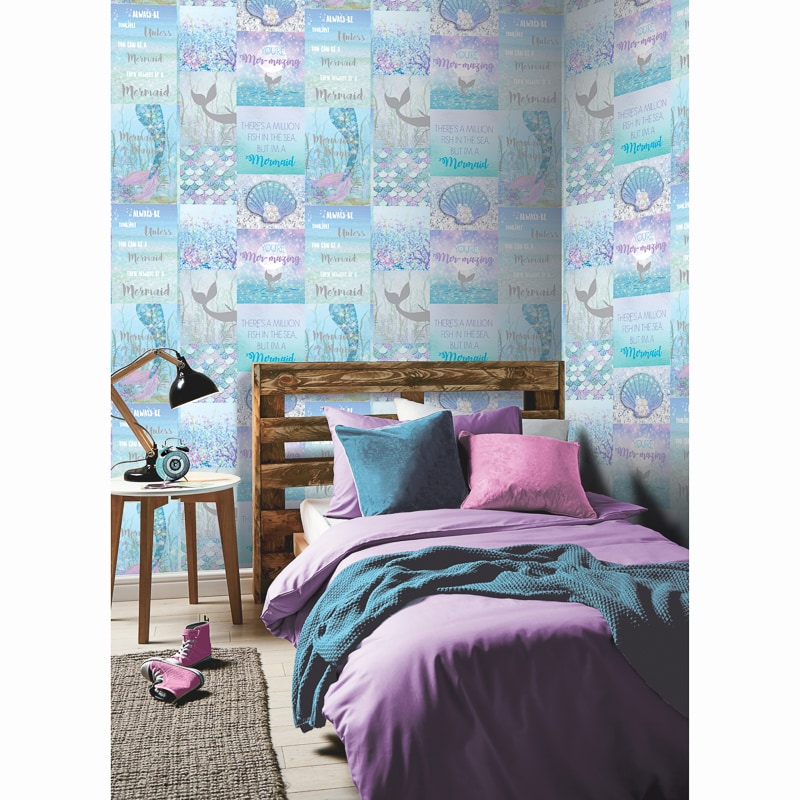 cheap kids wallpaper and wall stickers from b&m stores