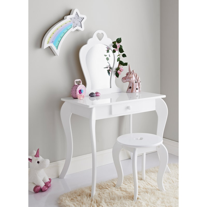 Amelia Vanity Set With Stool Amp Mirror Children S