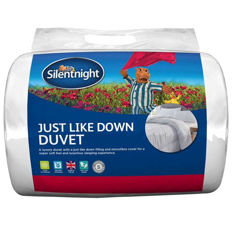 Silentnight Just Like Down 13.5 Tog Duvet - King