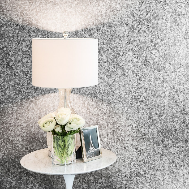 Rose gold pink and silver wallpaperbedroom kate texture for Cheap plain grey wallpaper