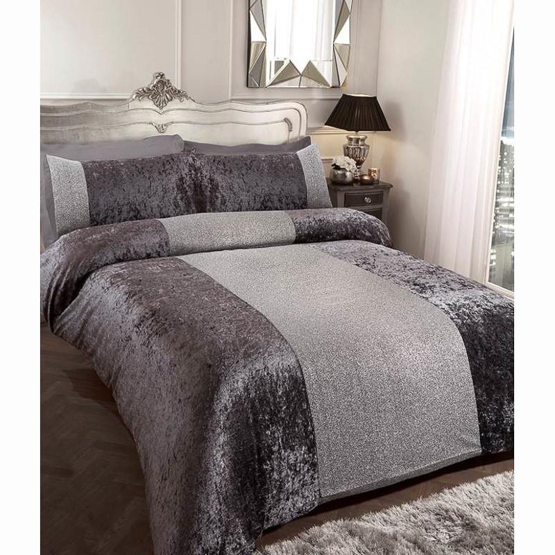 Karina Bailey Sparkle Double Duvet Set Bedding B Amp M