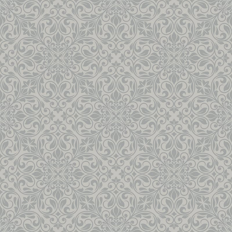 335084 Debona Sofia Grey Wallpaper