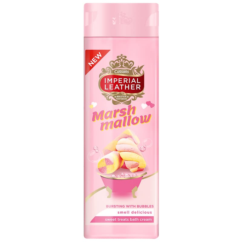 Imperial Leather Bath Cream 500ml - Marshmallow
