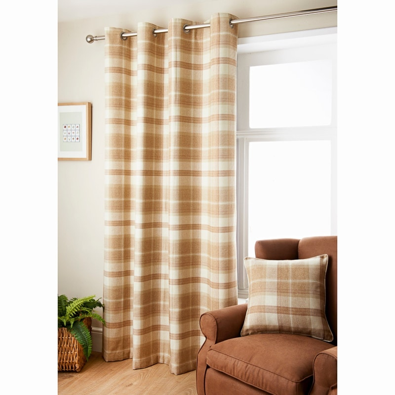 Oakland Check Curtain 66 X 90 Quot Curtains B Amp M
