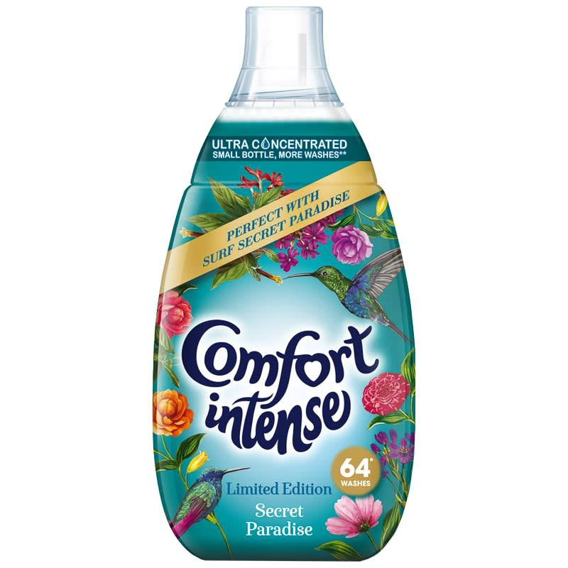 Comfort Intense Fabric Conditioner Secret Paradise