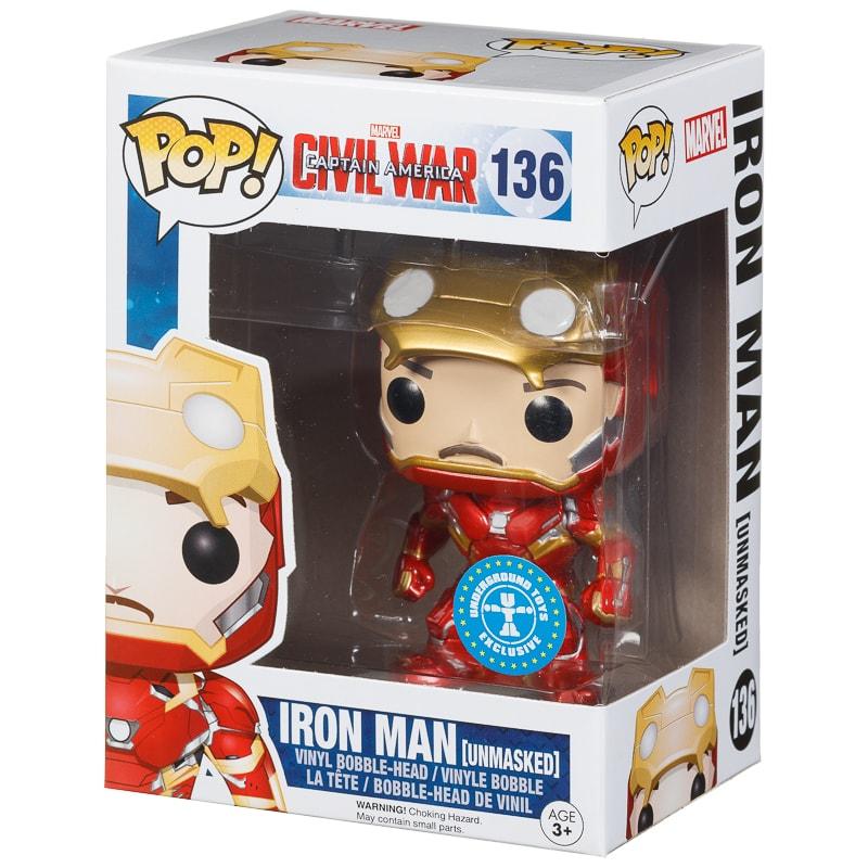 Pop! Heroes Vinyl Figure - Iron Man