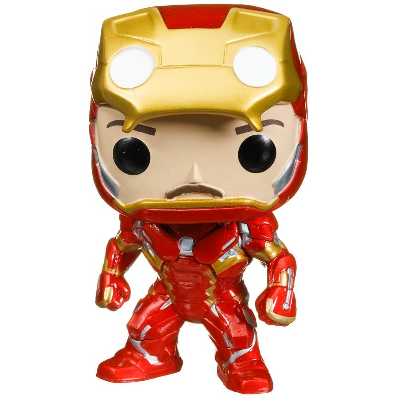 Pop Heroes Vinyl Figure Iron Man Collectible Figures