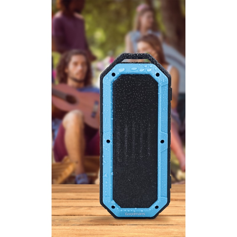 Goodmans Waterproof Speaker - Marine Blue