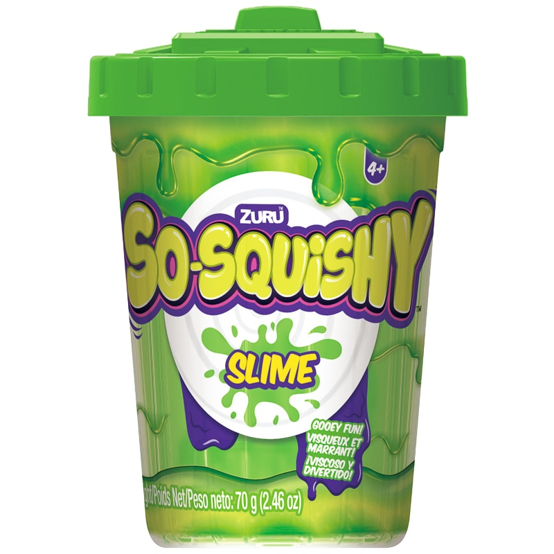 So Squishy Slime Pot Green Latest Crazes B Amp M