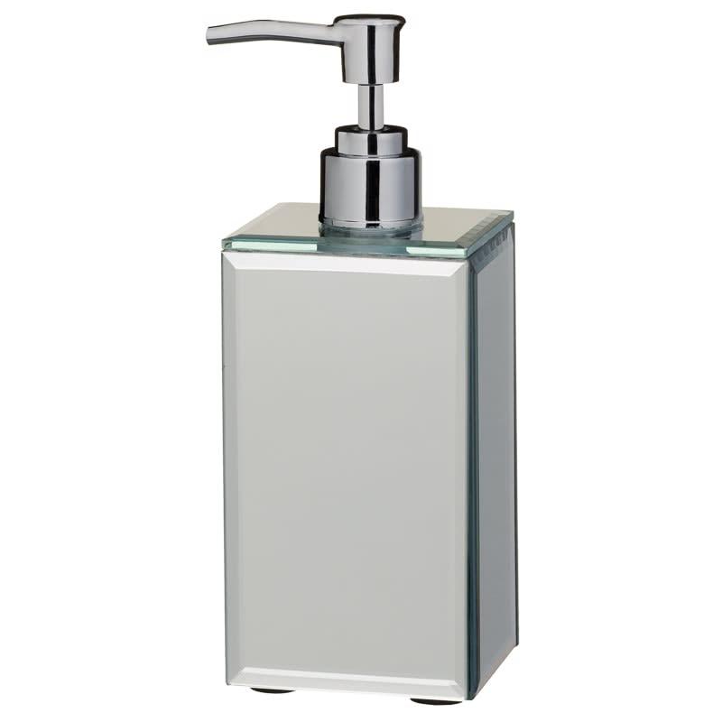 e565ba10d0a39 Mirrored Soap Dispenser - Plain