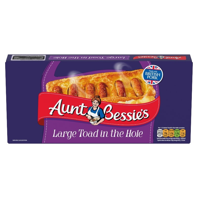 Aunt Bessie's Large Toad in the Hole 300g
