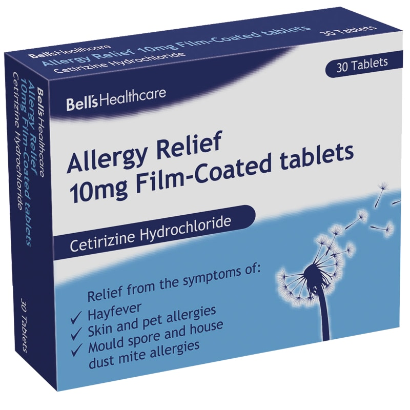 Bell's Allergy Relief Tablets 30pk