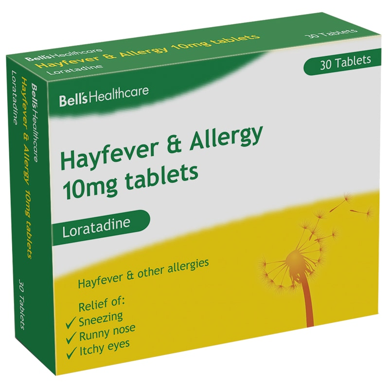 Bell's Hayfever & Allergy Relief Tablets 30pk