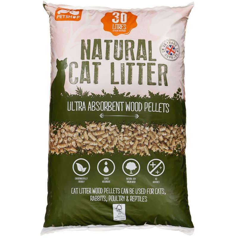 Pellet Fuel For Cat Litter