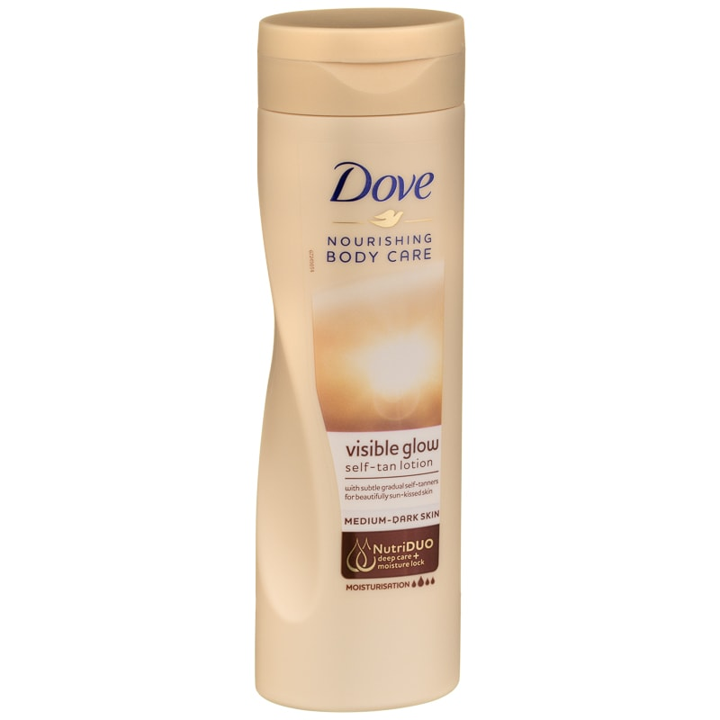 Dove Visible Glow Self Tan Lotion 250ml Tanning B Amp M