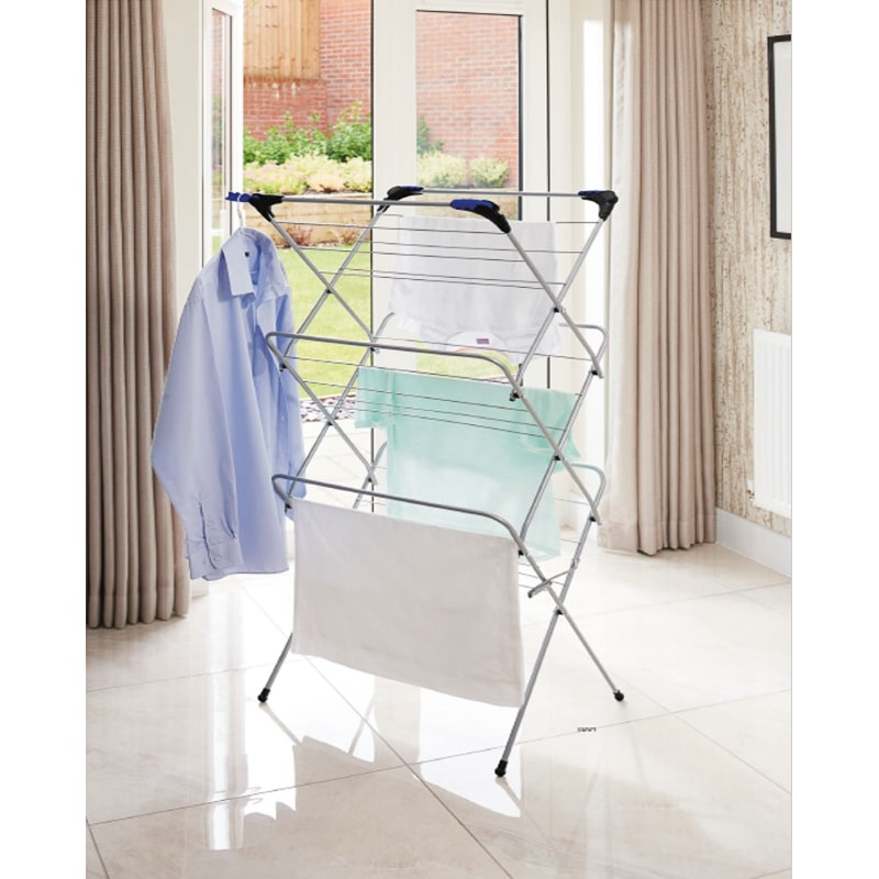 Addis 3 Tier Clothes Airer with Hooks