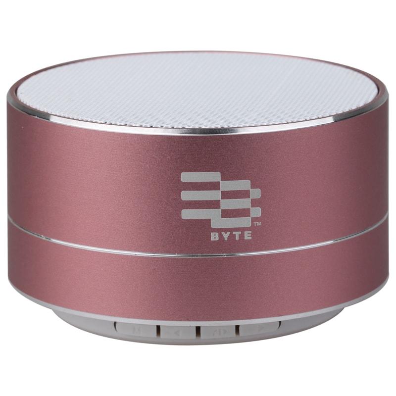 Byte Metal Bluetooth Speaker - Pink