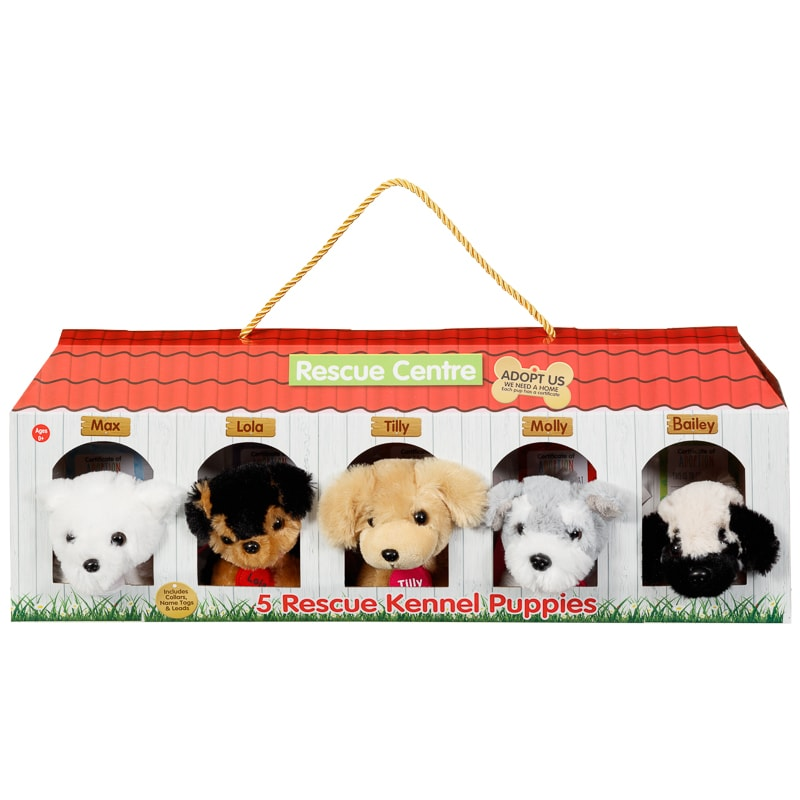 Rescue Centre Kennel Puppies 5pk